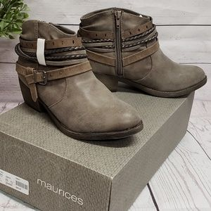 NWT Maurices Ankle Boots